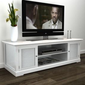 Szafka pod telewizor biała stolik tv