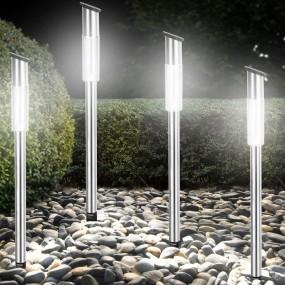 ZESTAW 4 LAMP SOLARNYCH LED WTYKOWE LAMPY