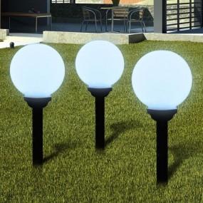 Zestaw lamp ogrodowych solarnych