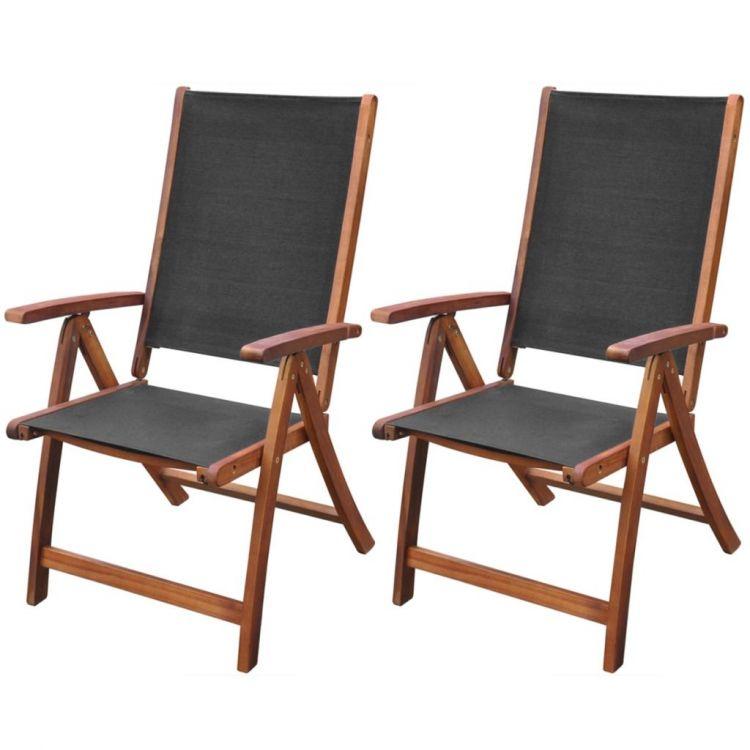 Unikalne Krzesła składane drewniane komplet 2 sztuki! - sklep Kochamymeble.pl VR74