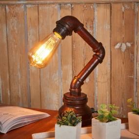 LAMPKA LAMPA STOŁOWA W STYLU LOFT HIT