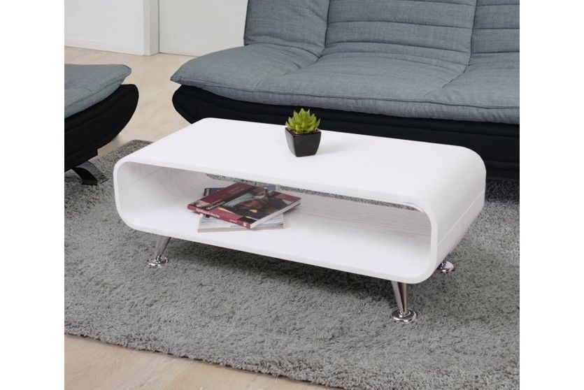 Bardzo dobryFantastyczny Stolik kawowy biały nowoczesny design - sklep Kochamymeble.pl CM16