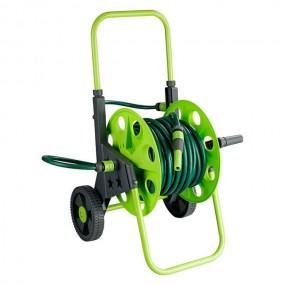 Solidny wózek na wąż ogrodowy z wężem 30 m