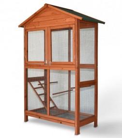 Woliera drewniana klatka dla ptaków egzotycznych klatka dla zwierząt