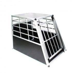 Transporter klatka transportowa dla psa kota z aluminium L