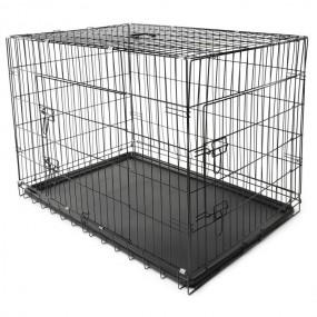 Transporter klatka transportowa dla psa kota królika składana XL