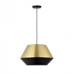 LAMPA SUFITOWA WISZĄCA  NOWOCZESNA złoto czarna