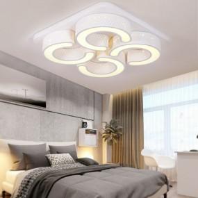 Nowoczesny plafon kinkiet sufitowy ścienny BIAŁY 78 W żyrandol lampa