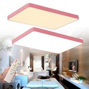 Plafon lampa sufitowa LED 48W + pilot do regulacji ściemnianie prostokąt plafon lampa ścienna