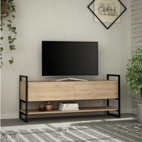 Szafka RTV stolik pod telewizor komoda  pokój salon TV półka 131 cm