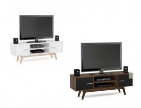 Stolik pod telewizor TV szafka RTV półki komoda pokój salon styl 135 cm