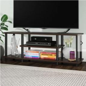Klasyczna szafka pod telewizor TV stolik RTV brązowy komoda regał pokój salon