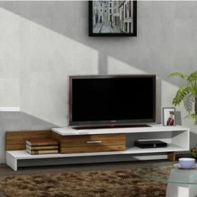 Stolik pod telewizor TV szafka RTV półki komoda pokój salon styl
