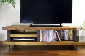 Stolik pod telewizor TV szafka RTV półki komoda pokój salon styl 100 cm
