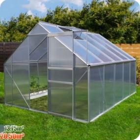 Szklarnia poliwęglanowa namiot tunel ogrodowy uprawa ogród 20,5 m3 / 13,75 m2