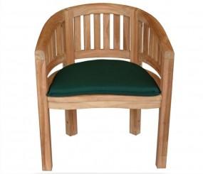 Fotel krzesło drewniane ogrodowe  wygodne relaks naturalne drewno ławeczka ogród taras balkon