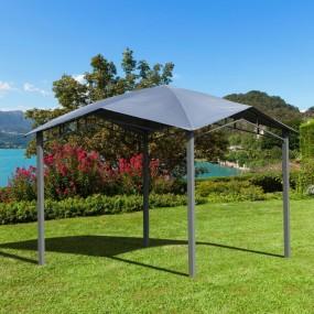 Altana ogrodowa 3 x 3 m pawilon zadaszenie dach namiot imprezowy do ogrodu