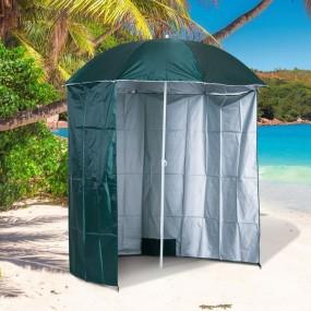 Parasol słoneczny ogrodowy plażowy ścianki boczne parawan zasłony