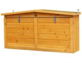 Wisząca szafa ogrodowa na narzędzia stół ogrodowy roboczy regał szafka schowek