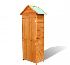 Domek ogrodowy na narzędzia drewniany schowek komórka szopka magazyn 190 cm