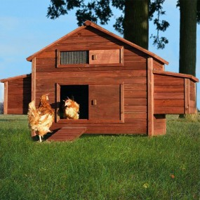 Drewniana klatka dla kur królików klatka dla zwierząt domek kurnik woliera