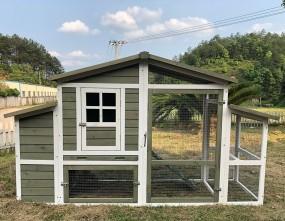 Drewniana klatka dla kur królików domek dla zwierząt kurnik