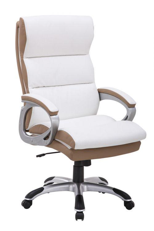 Ogromnie Krzesło biurowe skórzane fotel biurowy - sklep Kochamymeble.pl LD27