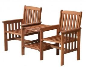 Zestaw do ogrodu stolik kanapa ławka komplet