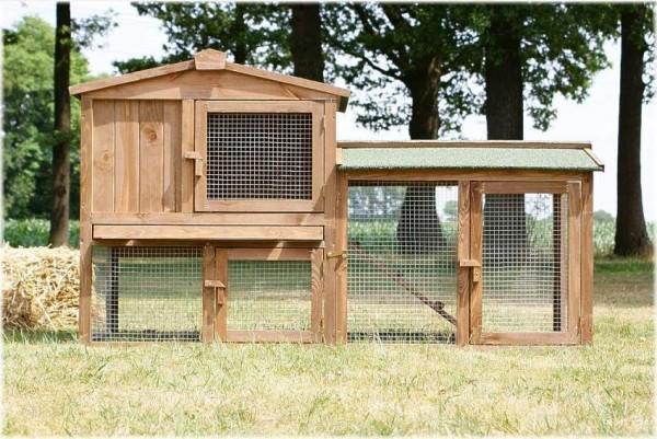 Kurnik klatka dla kur królików drewniana z wybiegiem klatka dla zwierząt