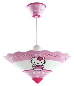 Żyrandol do pokoju dziecięcego Hello Kitty