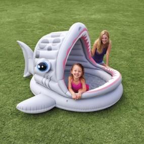 Basen dla dzieci rekin z dachem