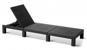 Leżanka regulowana krzesło leżak Kuba