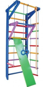 Ścianka wspinaczkowa drabinka plac zabaw