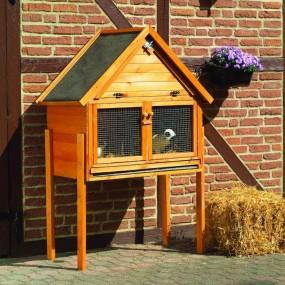 Klatka dla królików gryzoni drewniana klatka dla zwierząt