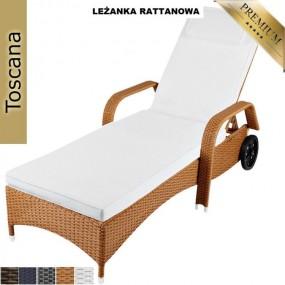 Leżanka rattanowa leżak sofa rattan