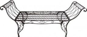 Ławka metalowa ławeczka antyczna