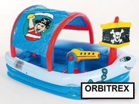 Basen dla dzieci plac zabaw STATEK PIRACKI