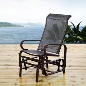 Fotel ogrodowy bujany krzesło ogrodowe bujane