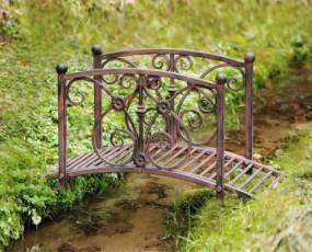 Mostek ogrodowy most metalowy