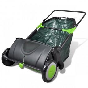 Zamiatarka ręczna śmieci trawy liści 103L / 55cm