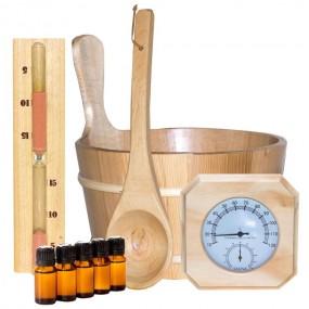 Akcesoria do sauny zestaw sauna