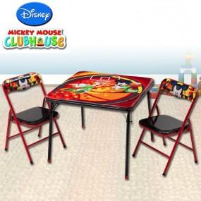 Składany zestaw- Stół + 2 krzesełka dla dzieci model Disney