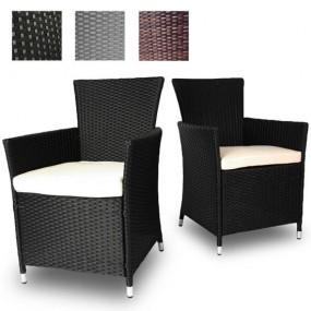 2 fotele rattanowe 3 kolory