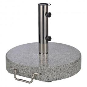 Granitowy stojak pod parasol podstawa granit 30kg