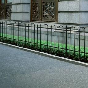 Piękne ogrodzenie 100 cm x 6 m