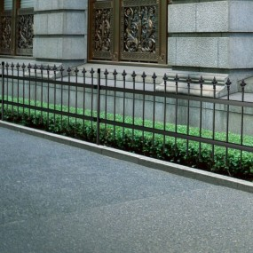 Piękne ogrodzenie 150 cm x 6 m
