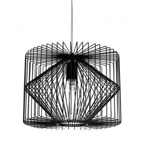 Lampa sufitowa Metal Czarna Vintage